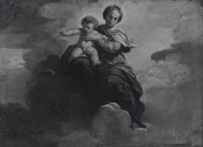 Madonna and Child in glory
